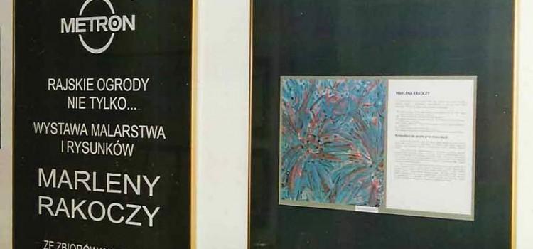 Indywidualna wystawa malarstwa i rysunku, Galeria Metron, Toruń