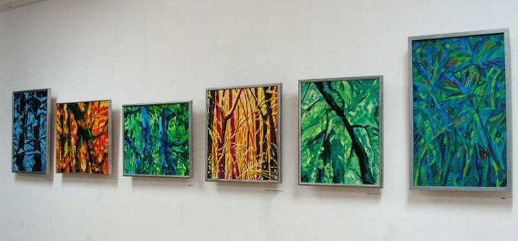 """Wystawa malarstwa """"Inspirowane naturą"""""""
