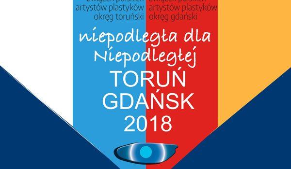 """Wystawa """"niepodległa dla Niepodległej"""" Toruń Gdańsk 2018"""