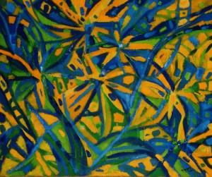 Wyspy szczęścia  - olej, płótno, wym. 50x60 cm