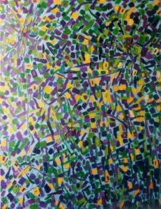 Katharsis - olej, płótno, wym. 130x100 cm
